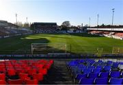 2 April 2021; A general view of Tolka Park before the SSE Airtricity League First Division match between Shelbourne and Bray Wanderers at Tolka Park in Dublin. Photo by Piaras Ó Mídheach/Sportsfile