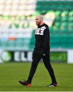 2 April 2021; Dundalk team manager Shane Keegan ahead of the SSE Airtricity League Premier Division match between Shamrock Rovers and Dundalk at Tallaght Stadium in Dublin. Photo by Eóin Noonan/Sportsfile