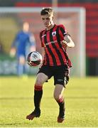 2 April 2021; Paddy Kirk of Longford Town during the SSE Airtricity League Premier Division match between Longford Town and Sligo Rovers at Bishopsgate in Longford. Photo by Harry Murphy/Sportsfile