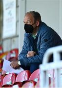 3 April 2021; Republic of Ireland goalkeeping coach Jan Willem van Ede during the SSE Airtricity Women's National League match between Cork City and Shelbourne at Turners Cross in Cork. Photo by Eóin Noonan/Sportsfile