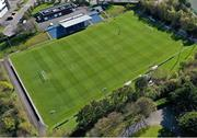 3 April 2021; A general view of the pitch before the SSE Airtricity Women's National League match between DLR Waves and Wexford Youths at UCD Bowl in Belfield, Dublin. Photo by Piaras Ó Mídheach/Sportsfile