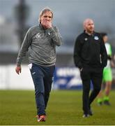 3 April 2021; Finn Harps manager Ollie Horgan reacts following the SSE Airtricity League Premier Division match between Drogheda United and Finn Harps at Head in the Game Park in Drogheda, Louth. Photo by Ben McShane/Sportsfile