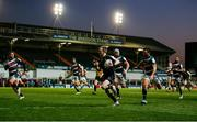 3 April 2021; Kieran Marmion of Connacht on his way to scoring his side's first try during the European Rugby Challenge Cup Round of 16 match between Leicester Tigers and Connacht at Welford Road in Leicester, England. Photo by Matt Impey/Sportsfile