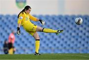 3 April 2021; Eve Badana of DLR Waves during the SSE Airtricity Women's National League match between DLR Waves and Wexford Youths at UCD Bowl in Belfield, Dublin. Photo by Piaras Ó Mídheach/Sportsfile