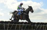 4 April 2021; El Barra, with Paul Townend up, jumps the last on their way to winning the Ryan's Cleaning, Waste & Recycling Maiden Hurdle on day two of the Fairyhouse Easter Festival at the Fairyhouse Racecourse in Ratoath, Meath. Photo by Seb Daly/Sportsfile