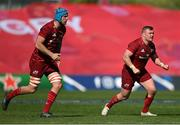 3 April 2021; Dave Kilcoyne, right, and Tadhg Beirne of Munster during the Heineken Champions Cup Round of 16 match between Munster and Toulouse at Thomond Park in Limerick. Photo by Ramsey Cardy/Sportsfile