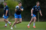 5 April 2021; Hugo Keenan during Leinster Rugby squad training at UCD in Dublin. Photo by Ramsey Cardy/Sportsfile