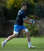 5 April 2021; Caelan Doris during Leinster Rugby squad training at UCD in Dublin. Photo by Ramsey Cardy/Sportsfile