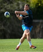 5 April 2021; Ed Byrne during Leinster Rugby squad training at UCD in Dublin. Photo by Ramsey Cardy/Sportsfile