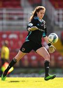 3 April 2021; Abby McCarthy of Cork City during the SSE Airtricity Women's National League match between Cork City and Shelbourne at Turners Cross in Cork. Photo by Eóin Noonan/Sportsfile