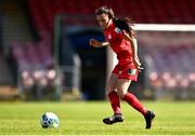 3 April 2021; Jess Ziu of Shelbourne during the SSE Airtricity Women's National League match between Cork City and Shelbourne at Turners Cross in Cork. Photo by Eóin Noonan/Sportsfile