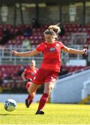 3 April 2021; Saoirse Noonan of Shelbourne during the SSE Airtricity Women's National League match between Cork City and Shelbourne at Turners Cross in Cork. Photo by Eóin Noonan/Sportsfile