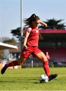 3 April 2021; Alex Kavanagh of Shelbourne during the SSE Airtricity Women's National League match between Cork City and Shelbourne at Turners Cross in Cork. Photo by Eóin Noonan/Sportsfile
