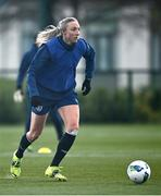 5 April 2021; Louise Quinn during a Republic of Ireland WNT training session at FAI National Training Centre in Dublin. Photo by David Fitzgerald/Sportsfile