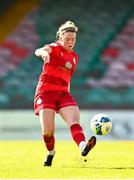 3 April 2021; Jess Stapleton during the SSE Airtricity Women's National League match between Cork City and Shelbourne at Turners Cross in Cork. Photo by Eóin Noonan/Sportsfile