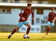 3 April 2021; Pierce Phillips of Cobh during the SSE Airtricity League First Division match between Cobh Ramblers and UCD at St Colman's Park in Cobh, Cork. Photo by Eóin Noonan/Sportsfile