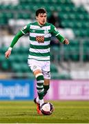 2 April 2021; Sean Gannon of Shamrock Rovers during the SSE Airtricity League Premier Division match between Shamrock Rovers and Dundalk at Tallaght Stadium in Dublin. Photo by Eóin Noonan/Sportsfile