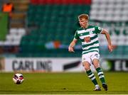 2 April 2021; Liam Scales of Shamrock Rovers during the SSE Airtricity League Premier Division match between Shamrock Rovers and Dundalk at Tallaght Stadium in Dublin. Photo by Eóin Noonan/Sportsfile