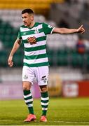 2 April 2021; Aaron Greene of Shamrock Rovers during the SSE Airtricity League Premier Division match between Shamrock Rovers and Dundalk at Tallaght Stadium in Dublin. Photo by Eóin Noonan/Sportsfile