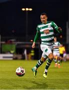 2 April 2021; Graham Burke of Shamrock Rovers during the SSE Airtricity League Premier Division match between Shamrock Rovers and Dundalk at Tallaght Stadium in Dublin. Photo by Eóin Noonan/Sportsfile