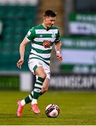 2 April 2021; Ronan Finn of Shamrock Rovers during the SSE Airtricity League Premier Division match between Shamrock Rovers and Dundalk at Tallaght Stadium in Dublin. Photo by Eóin Noonan/Sportsfile