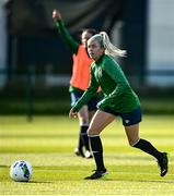 5 April 2021; Denise O'Sullivan during a Republic of Ireland WNT training session at FAI National Training Centre in Dublin. Photo by David Fitzgerald/Sportsfile
