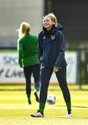 5 April 2021; Hayley Nolan during a Republic of Ireland WNT training session at FAI National Training Centre in Dublin. Photo by David Fitzgerald/Sportsfile
