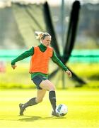 5 April 2021; Diane Caldwell during a Republic of Ireland WNT training session at FAI National Training Centre in Dublin. Photo by David Fitzgerald/Sportsfile