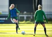 5 April 2021; Claire Walsh during a Republic of Ireland WNT training session at FAI National Training Centre in Dublin. Photo by David Fitzgerald/Sportsfile
