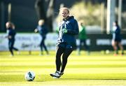 5 April 2021; Courtney Brosnan during a Republic of Ireland WNT training session at FAI National Training Centre in Dublin. Photo by David Fitzgerald/Sportsfile