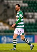 2 April 2021; Chris McCann of Shamrock Rovers during the SSE Airtricity League Premier Division match between Shamrock Rovers and Dundalk at Tallaght Stadium in Dublin. Photo by Eóin Noonan/Sportsfile