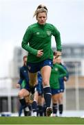 7 April 2021; Florence Gamby during a Republic of Ireland training session at Tallaght Stadium in Dublin. Photo by Stephen McCarthy/Sportsfile