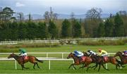 8 April 2021; Erzindjan, with Colin Keane up, left, races clear on their way to winning the Irish Stallion Farms EBF race at Gowran Park Racecourse in Kilkenny. Photo by David Fitzgerald/Sportsfile