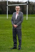 23 March 2021; Uachtarán Chumann Lúthchleas Gael Larry McCarthy in Malahide, Dublin. Photo by Brendan Moran/Sportsfile