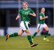 8 April 2021; Ellen Molloy of Republic of Ireland during the women's international friendly match between Republic of Ireland and Denmark at Tallaght Stadium in Dublin. Photo by Stephen McCarthy/Sportsfile