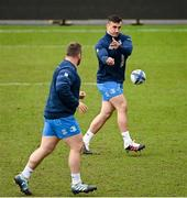 9 April 2021; Rónan Kelleher during the Leinster Rugby captain's run at Sandy Park in Exeter, England. Photo by Ramsey Cardy/Sportsfile