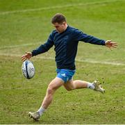 9 April 2021; Luke McGrath during the Leinster Rugby captain's run at Sandy Park in Exeter, England. Photo by Ramsey Cardy/Sportsfile