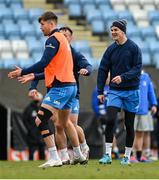 9 April 2021; Jonathan Sexton during the Leinster Rugby captain's run at Sandy Park in Exeter, England. Photo by Ramsey Cardy/Sportsfile