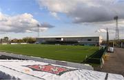 9 April 2021; A general view of Oriel Park before the SSE Airtricity League Premier Division match between Dundalk and Bohemians at Oriel Park in Dundalk, Louth. Photo by Ben McShane/Sportsfile
