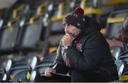 9 April 2021; Dundalk coach Filippo Giovagnoli during the SSE Airtricity League Premier Division match between Dundalk and Bohemians at Oriel Park in Dundalk, Louth. Photo by Stephen McCarthy/Sportsfile