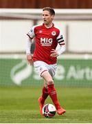 9 April 2021; Ian Bermingham of St Patrick's Athletic during the SSE Airtricity League Premier Division match between St Patrick's Athletic and Derry City at Richmond Park in Dublin. Photo by Harry Murphy/Sportsfile