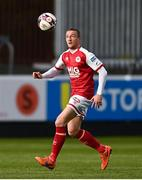 9 April 2021; John Mountney of St Patrick's Athletic during the SSE Airtricity League Premier Division match between St Patrick's Athletic and Derry City at Richmond Park in Dublin. Photo by Harry Murphy/Sportsfile