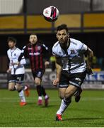 9 April 2021; Patrick Hoban of Dundalk during the SSE Airtricity League Premier Division match between Dundalk and Bohemians at Oriel Park in Dundalk, Louth. Photo by Ben McShane/Sportsfile