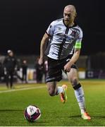9 April 2021; Chris Shields of Dundalk during the SSE Airtricity League Premier Division match between Dundalk and Bohemians at Oriel Park in Dundalk, Louth. Photo by Ben McShane/Sportsfile