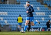10 April 2021; Rory O'Loughlin of Leinster warms up before the Heineken Champions Cup Pool Quarter-Final match between Exeter Chiefs and Leinster at Sandy Park in Exeter, England. Photo by Ramsey Cardy/Sportsfile
