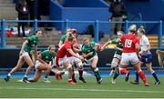 10 April 2021; Emily Lane of Ireland during the Women's Six Nations Rugby Championship match between Wales and Ireland at Cardiff Arms Park in Cardiff, Wales. Photo by Chris Fairweather/Sportsfile