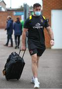 10 April 2021; Alan O'Connor of Ulster arrives before the Heineken Challenge Cup Quarter-Final match between Northampton Saints and Ulster at Franklin's Gardens in Northampton, England. Photo by Matt Impey/Sportsfile