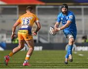 10 April 2021; Scott Fardy of Leinster during the Heineken Champions Cup Pool Quarter-Final match between Exeter Chiefs and Leinster at Sandy Park in Exeter, England. Photo by Ramsey Cardy/Sportsfile