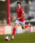10 April 2021; Jordan Gibson of Sligo Rovers during the SSE Airtricity League Premier Division match between Sligo Rovers and Shamrock Rovers at The Showgrounds in Sligo. Photo by Stephen McCarthy/Sportsfile