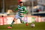 10 April 2021; Aaron Greene of Shamrock Rovers during the SSE Airtricity League Premier Division match between Sligo Rovers and Shamrock Rovers at The Showgrounds in Sligo. Photo by Stephen McCarthy/Sportsfile